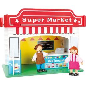 Supermarket s příslušenstvím
