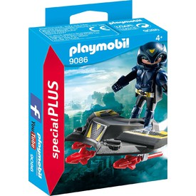 PLAYMOBIL 9086 Sky Knight a letadlo