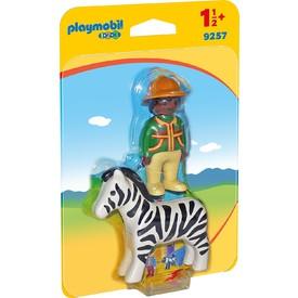 PLAYMOBIL 9257 Ošetřovatel a  Zebra