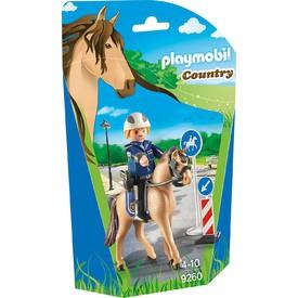 PLAYMOBIL 9260 Policista s koněm