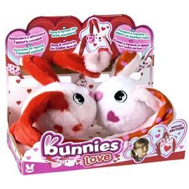 TM Toys plyšový králík BUNNIES duo pack LOVE