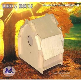 Woodcraft Dřevěná skládačka - Ptačí budka P086