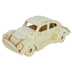 Dřevěná skládačka - VW Beetle P202