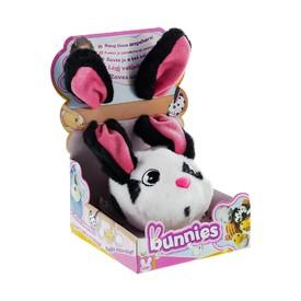 TM Toys plyšový králík bílo černý BUNNIES