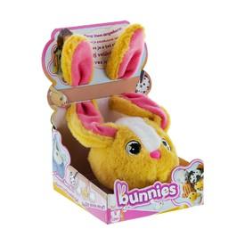 TM Toys plyšový králík světle hnědý BUNNIES