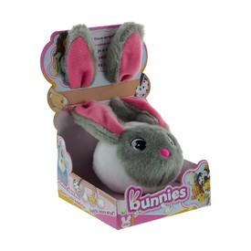 TM Toys plyšový králík šedý BUNNIES