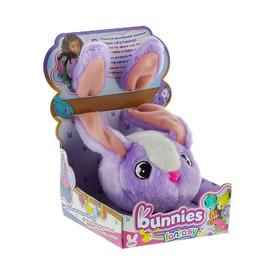 TM Toys plyšový králík fialovo bílý BUNNIES