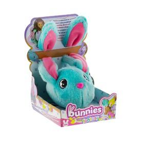 TM Toys plyšový králík modrý BUNNIES