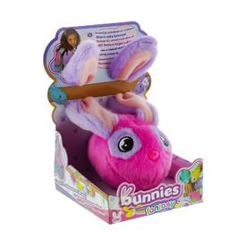 TM Toys plyšový králík růžový BUNNIES