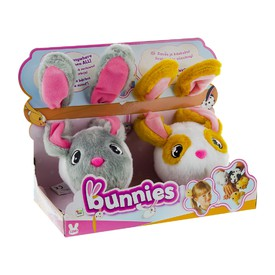 TM Toys plyšový králík BUNNIES duo pack 12198