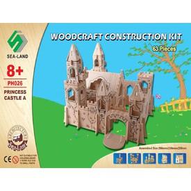 Dřevěná skládačka - Zámek Princea PH026