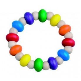 Dřevěné hračky pro nejmenší -  Ohýbací kroužek