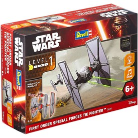 Revell Build Play SW 06751 - First Order Special Forces Tie Fighter (světelné a zvukové efekty)