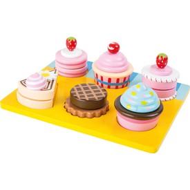 Set sladkých dortíků