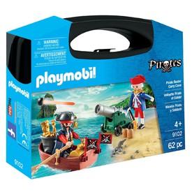 PLAYMOBIL 9102 Přenosný box Pirát a Voják
