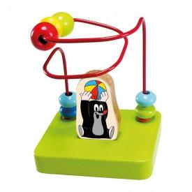 Dřevěné hračky -  Motorický labyrint - Krtek