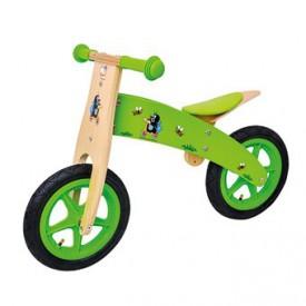 Dřevěné hračky - Odrážedlo Krtek
