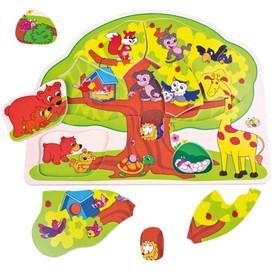 Bino puzzle - Veselá zvířátka