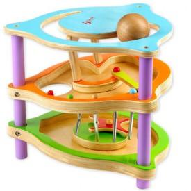 Dřevěné hračky - Dřevěné hry - Dřevěný tobogán