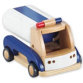 Dřevěné hračky - Dřevěné auto - Cisterna