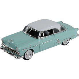 Welly - Ford Crestline Victoria (1953) model 1:24 tyrkysový