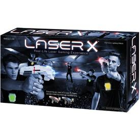 TM TOYS LASER-X Pistole s infračervenými paprsky - Dvojitá sada