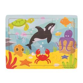 Bigjigs Toys puzzle - Mořský svět