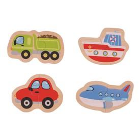 Bigjigs Toys Easy puzzle - Dopravní prostředky