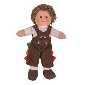 Bigjigs Toys látková panenka Jack 25 cm