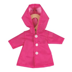 Bigjigs Toys růžový kabátek pro panenku 25 cm