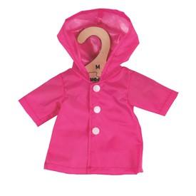 Bigjigs Toys růžový kabátek  pro panenku 35 cm