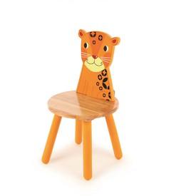 Tidlo dřevěná židle Animal tygr