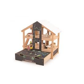 Tidlo Velký praktický dřevěný domeček Open