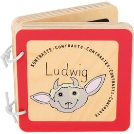Dřevěná knížka Ludwig