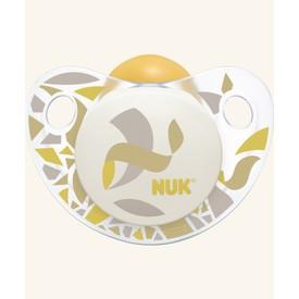 NUK Dudlík Trendline Adore (0-6 měs.) žlutá