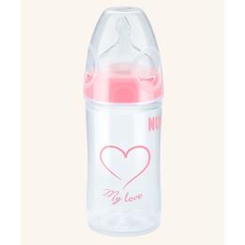 NUK First Choice Plus New Classic láhev 150 ml růžová