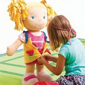 Bigjigs Toys Velká látková panenka Tola