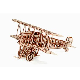 Wood Trick 3D mechanické puzzle - Letadlo