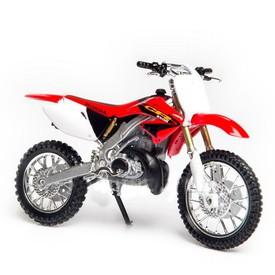 Welly - Motocykl Honda CR250R model 1:18 červená závodní