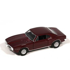 Welly - Pontiac Firebird (1967) model 1:34 bordó