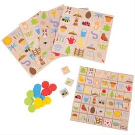 Bigjigs Toys zahradní bingo