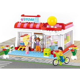 Sluban Girls Dream Town M38-B0529 Supermarket