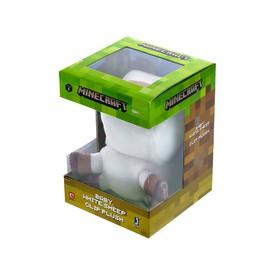 TM Toys Plyšová figurka s klipem MINECRAFT Baby white sheep