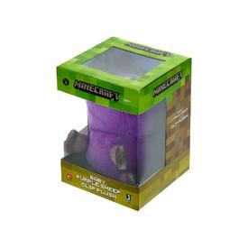 TM Toys Plyšová figurka s klipem MINECRAFT Baby purple sheep