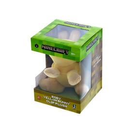 TM Toys Plyšová figurka s klipem MINECRAFT Baby yellow bunny