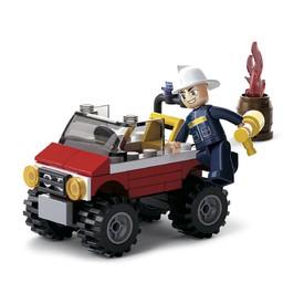 Sluban Hasiči M38-B0621 Jeep