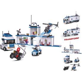 Sluban Policie M38-B0376 2v1 Městský náklaďák-základna