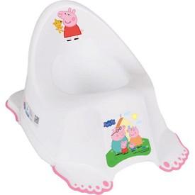 TEGA BABY Hrající dětský nočník protiskluzový Prasátko Peppa white-pink