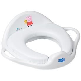 TEGA BABY Dětské sedátko na WC měkké Prasátko Peppa white-pink