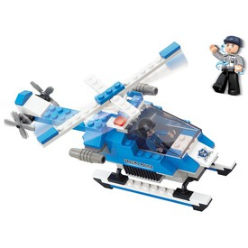 Sluban Policie M38-B0185 Policejní helikoptéra